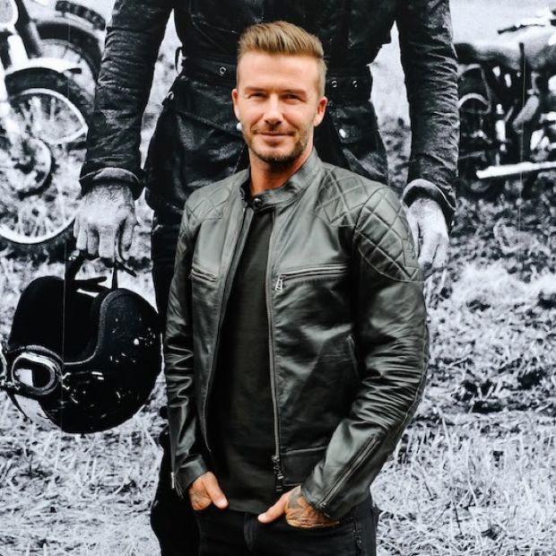 Steal The Look: David Beckham\'s Badass Leather Jacket - Airows