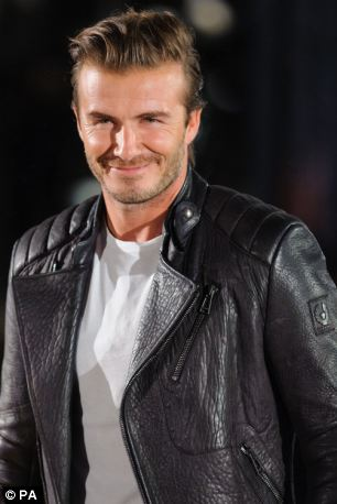 David Beckham is named as face of luxury British label Belstaff