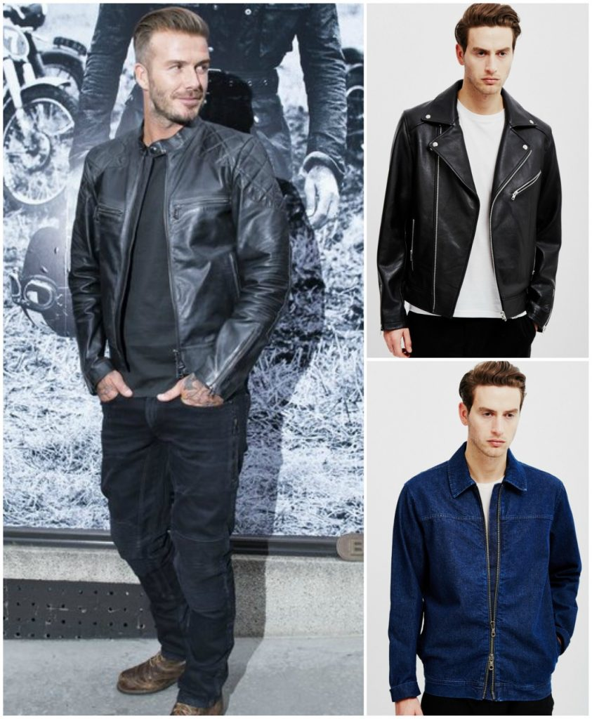 How To Achieve David Beckham39s Style The Idle Man Throughout David Beckham Looks Good In Leather David Beckham Looks Good In Leather | Celebrity Gossip